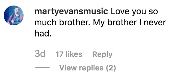 Chase Chrisley's friend, Marty Evans thank him for sending him sharing a birthday message | Source: instagram.com/chasechrisley