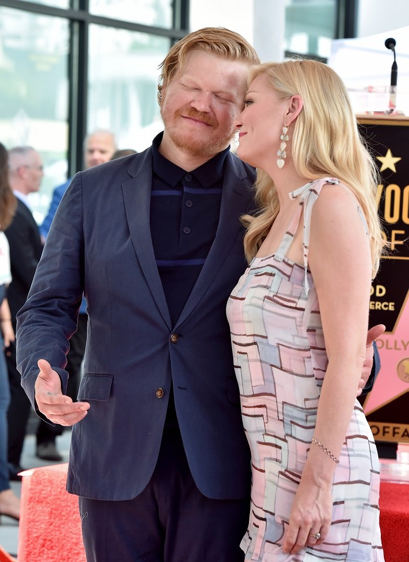 Jesse Plemons and Kirsten Dunst on August 29, 2019 in Hollywood, California | Photo: Getty Images