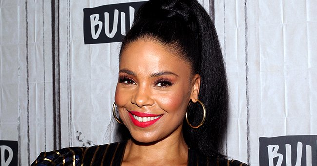 Sanaa Lathan of 'Love & Basketball' Flaunts Her Growing Afro in Stunning Selfies