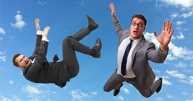 Daily Joke: 2 Men Jump Out of Plane to Meet Their Relatives