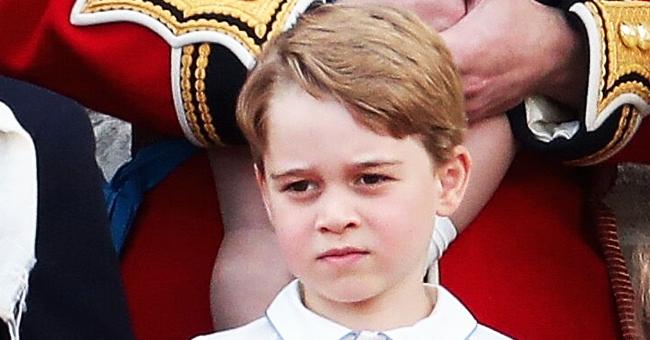 Hilarante gesto de despedida del príncipe George se vuelve viral (video)