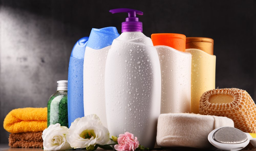 A photo of bottles of body care and beauty products.   Photo: Shutterstock