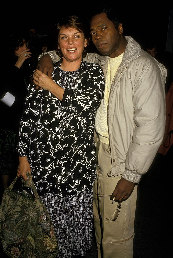 """Tyne Daly and Georg Stanford Brown during """"Hard Times"""" Benefit Performance in Los Angeles   Photo: Getty Images"""