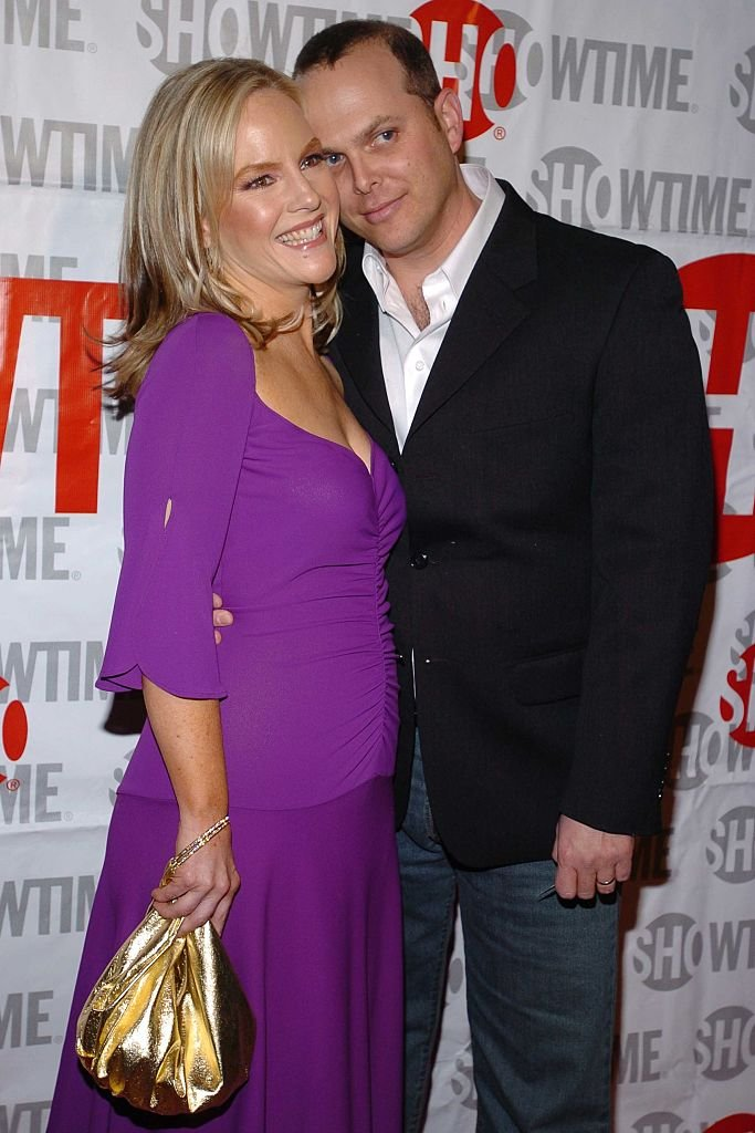 """Rachael Harris and Adam Paul at the Premiere for Showtime's New Comedy """"Fat Actress"""" Starring Kirstie Alley at ArcLight Cinerama Dome on February 23, 2005   Photo: Getty Images"""