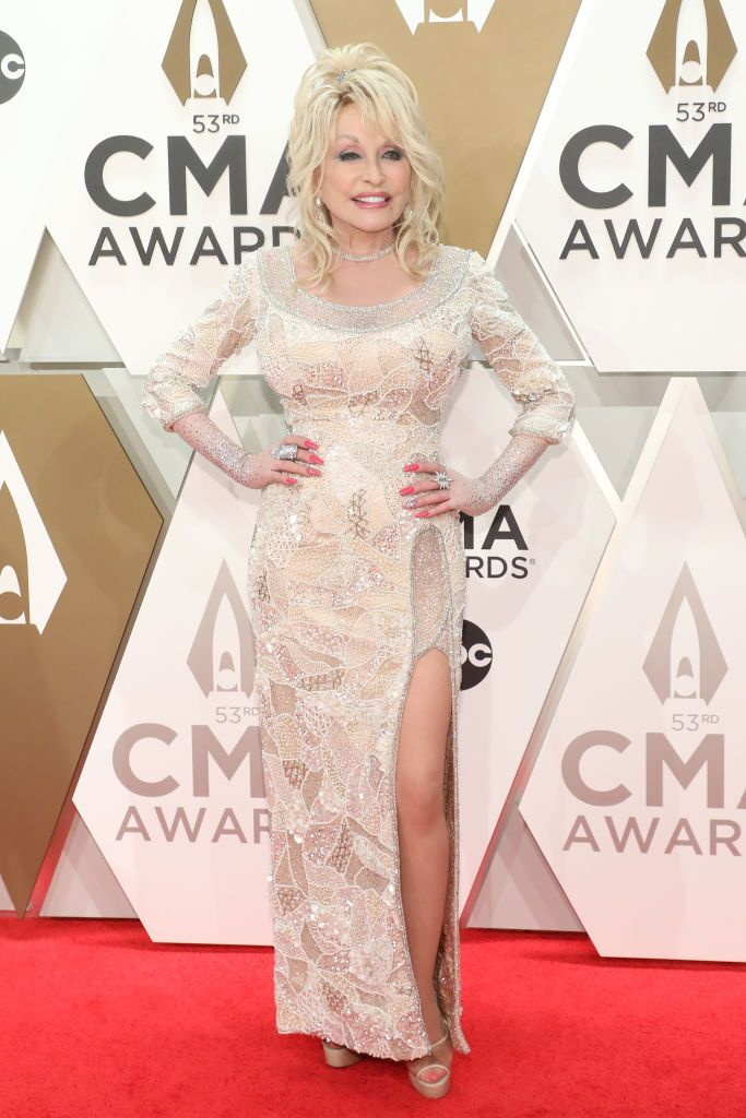 Dolly Parton attends the 53nd annual CMA Awards at Bridgestone Arena on November 13, 2019 in Nashville, Tennessee. | Source: Getty Images