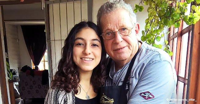 Abuelo con cáncer le prometió a su nieta que vivirá 4 años más para verla con su diploma