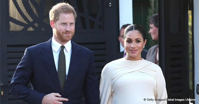 Meghan Markle Checks Her Baby Bump in an Adorable Video, and Harry's Reaction Later Is Pure Gold