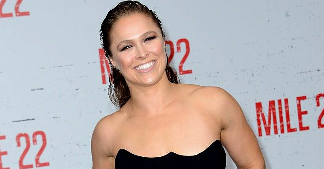 """Ronda Rousey pictured at the premiere of STX Films' """"Mile 22,"""" 2018, Westwood, California.   Photo: Getty Images"""