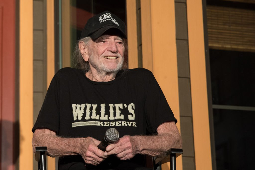 Willie Nelson attends a Q&A following the Luck Cinema screening of 'Red Headed Stranger' at Luck Ranch on July 06, 2019 | Photo: Getty Images