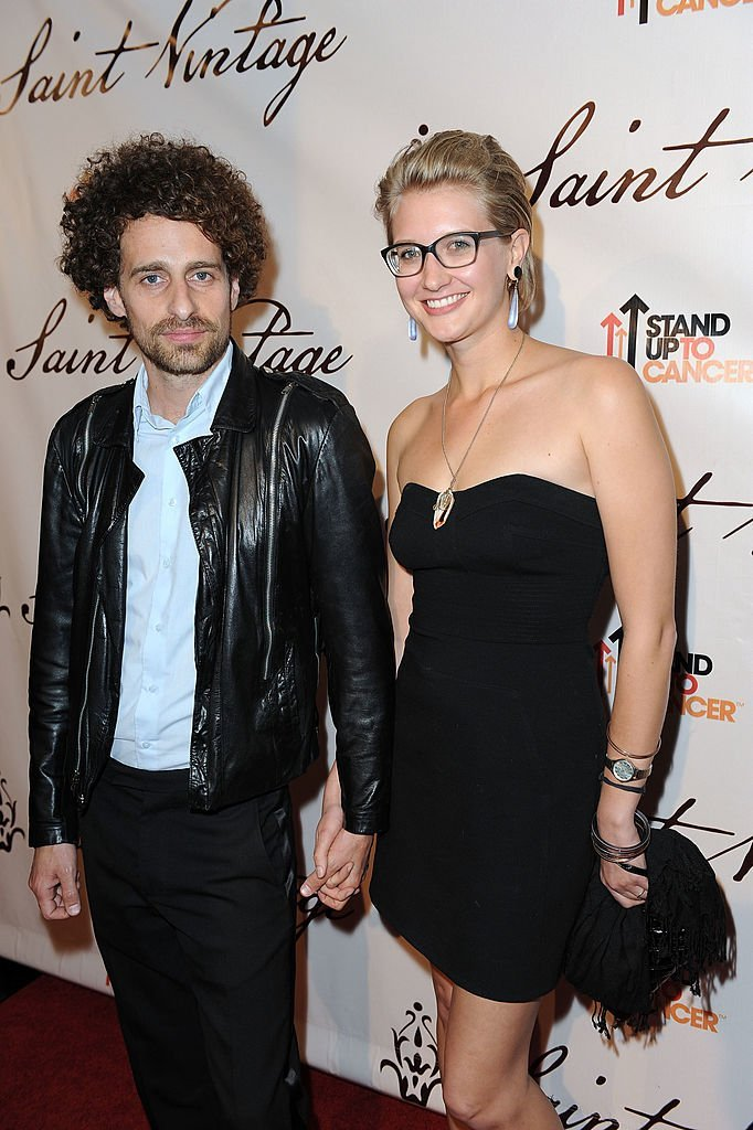 Actor Isaac Kappy and a guest at an evening of the Saint Vintage Love Tour | Getty Images