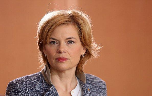 Julia Klöckner, Wöchentliches Kabinett-Meeting, Berlin, 2018 | Quelle: Getty Images