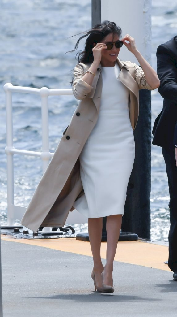The Duchess of Sussex, Meghan Markle arrives at the Man o'War Steps Source | Photo: Getty Images