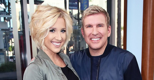 Savannah Chrisley Shows off Impressive Abs in Sleek Sports Outfit after Her Workout
