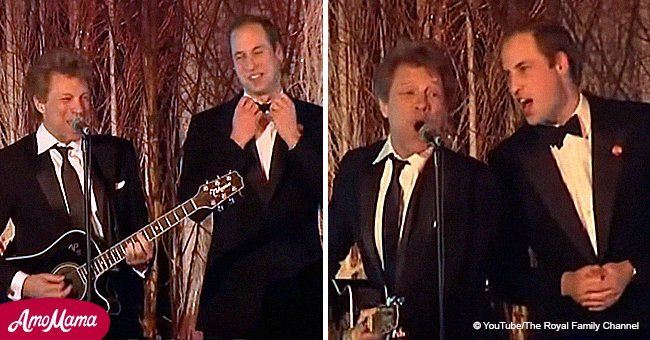 Prince William once wowed the crowd singing 'Livin' on a Prayer' with Bon Jovi.