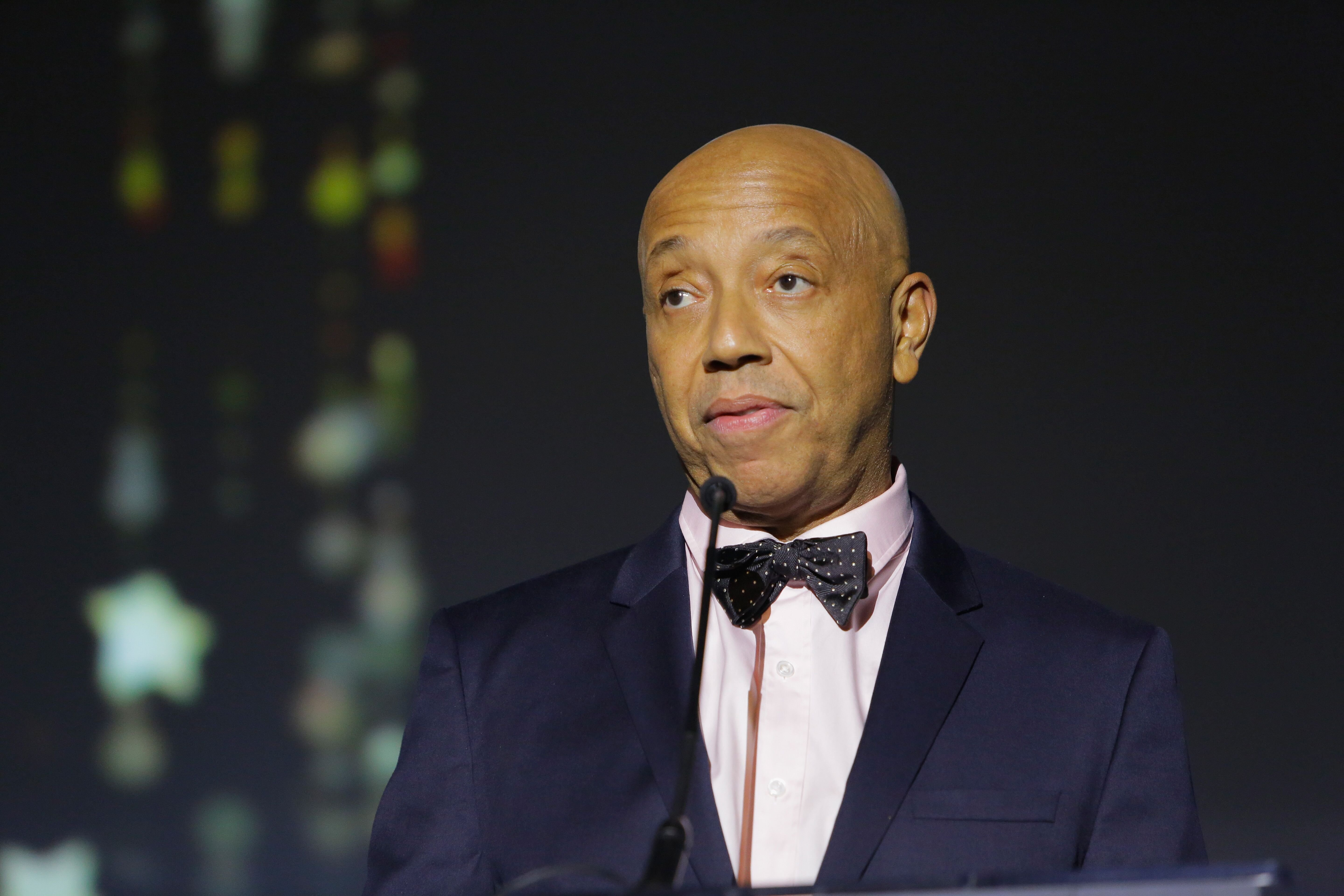 Music producer Russell Simmons speaks onstage at the 2017 Make a Wish Gala on November 9, 2017 | Photo: Getty Images
