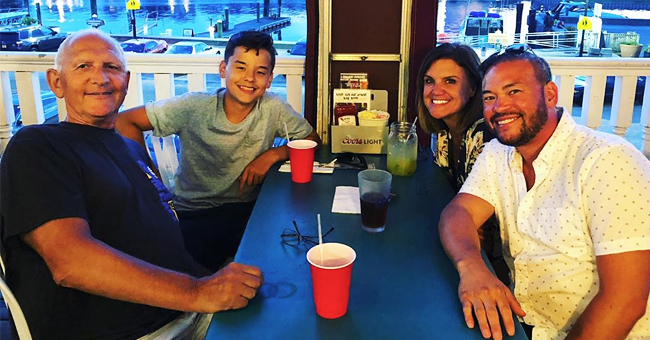 Jon Gosselin Spends Time with Son Collin & Girlfriend Colleen during a Beachside Dinner