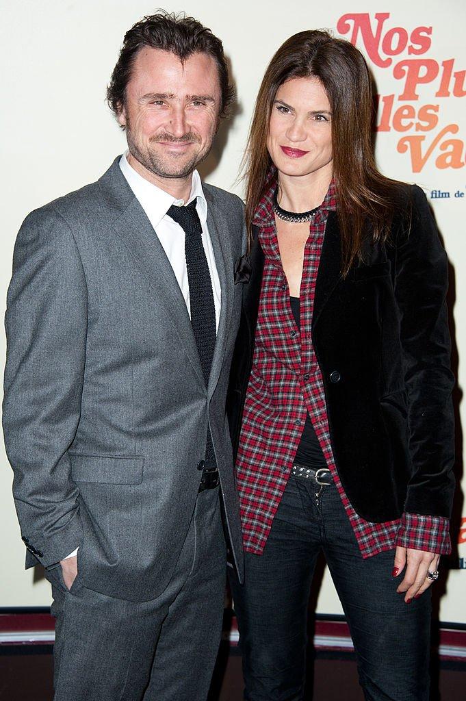Alexandre Brasseur et sa femme en 212. l Source : Getty Images