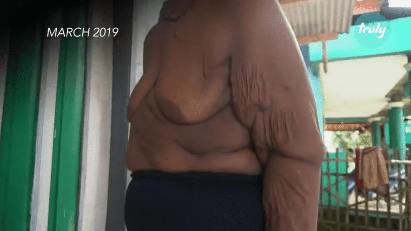 Übergewichtiger Junge | Quelle: Youtube/Barcroft Tv