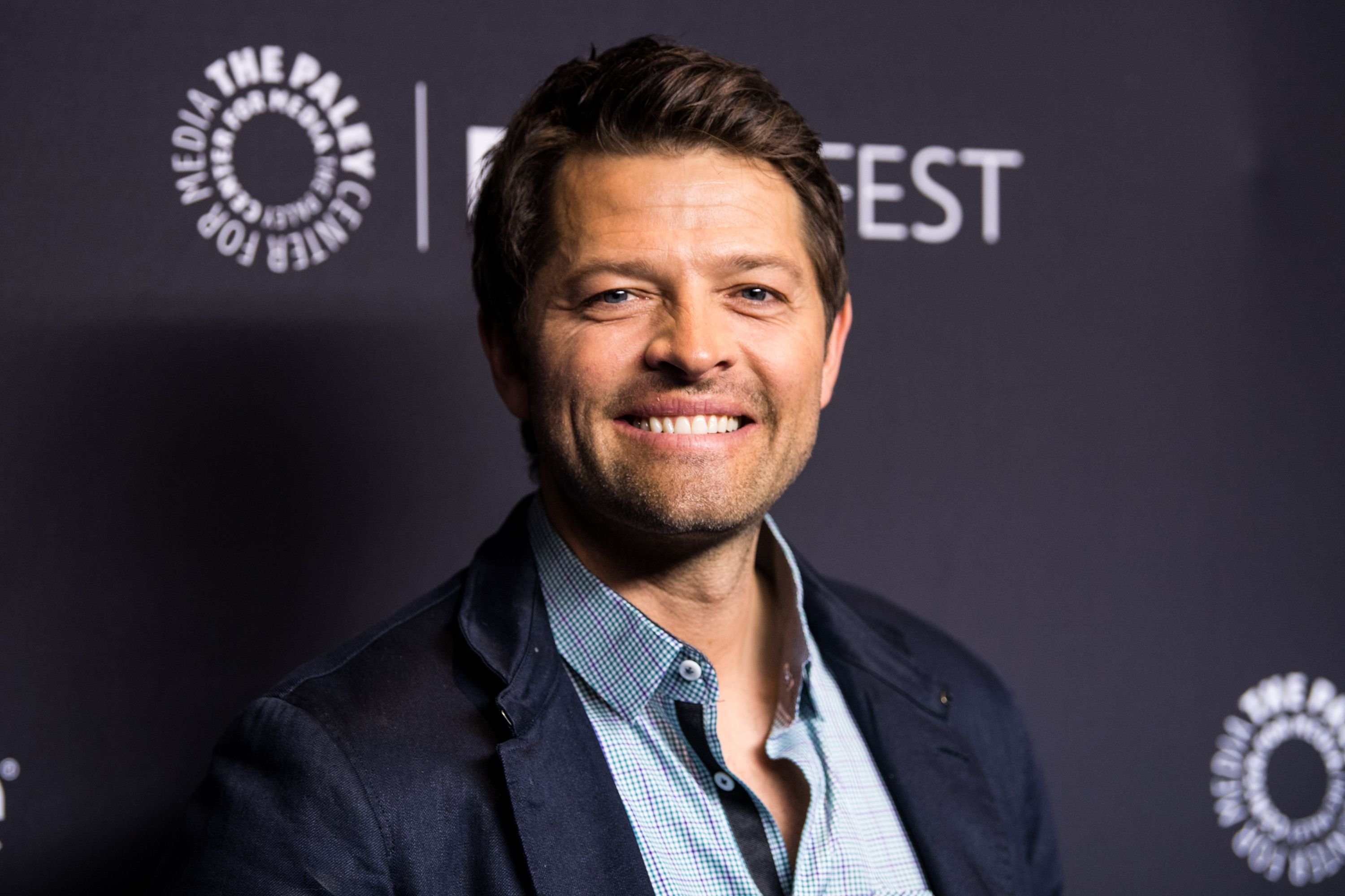 """Misha Collins during the Paley Center for Media's 35th Annual PaleyFest Los Angeles """"Supernatural"""" at Dolby Theatre on March 20, 2018 in Hollywood, California. 