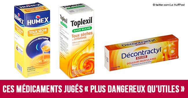 Toplexil, Humex, Decontractyl: la liste noire des médicaments à éviter