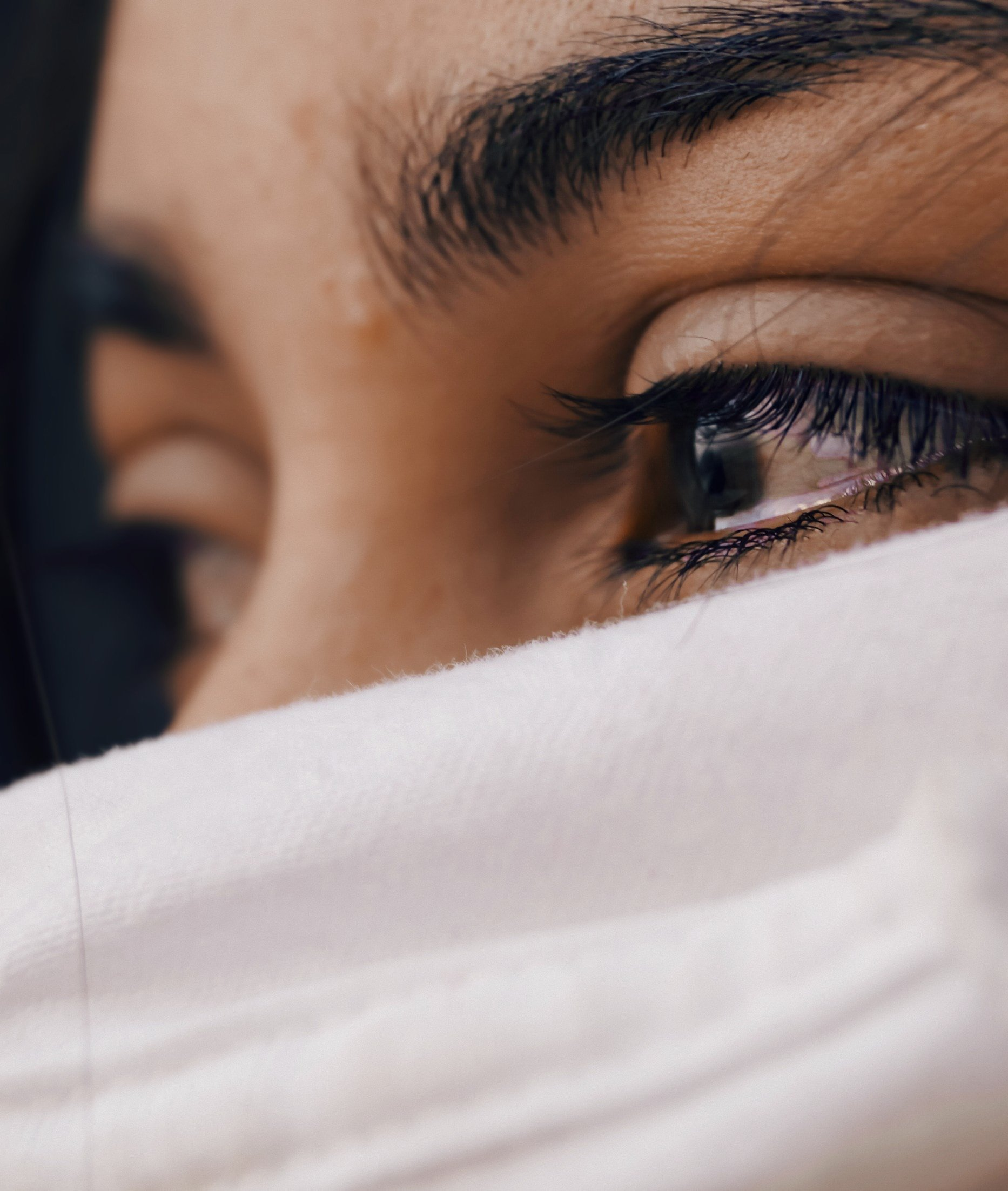 A woman with tears in her eyes | Source: Unsplash.com