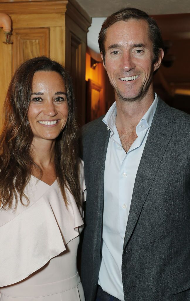 Pippa Middleton et James Matthews. l Source : Getty Images