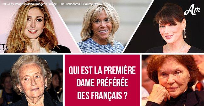 Carla Bruni, Julie Gayet, Brigitte Macron: qui est la première dame préférée des Français