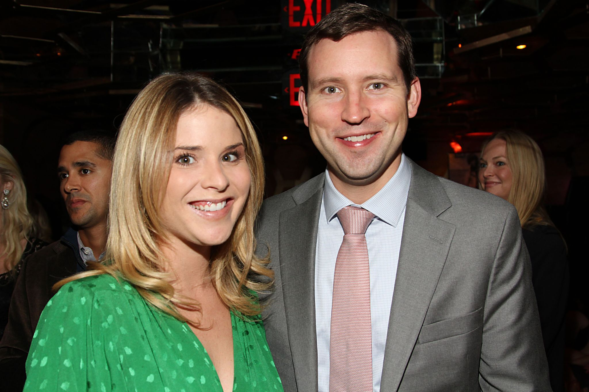 "Jenna Bush Hager and husband Henry Chase Hager at ""A Candid Conversation with Jane Fonda and Andy Cohen"" on October 11, 2012, in New York City 