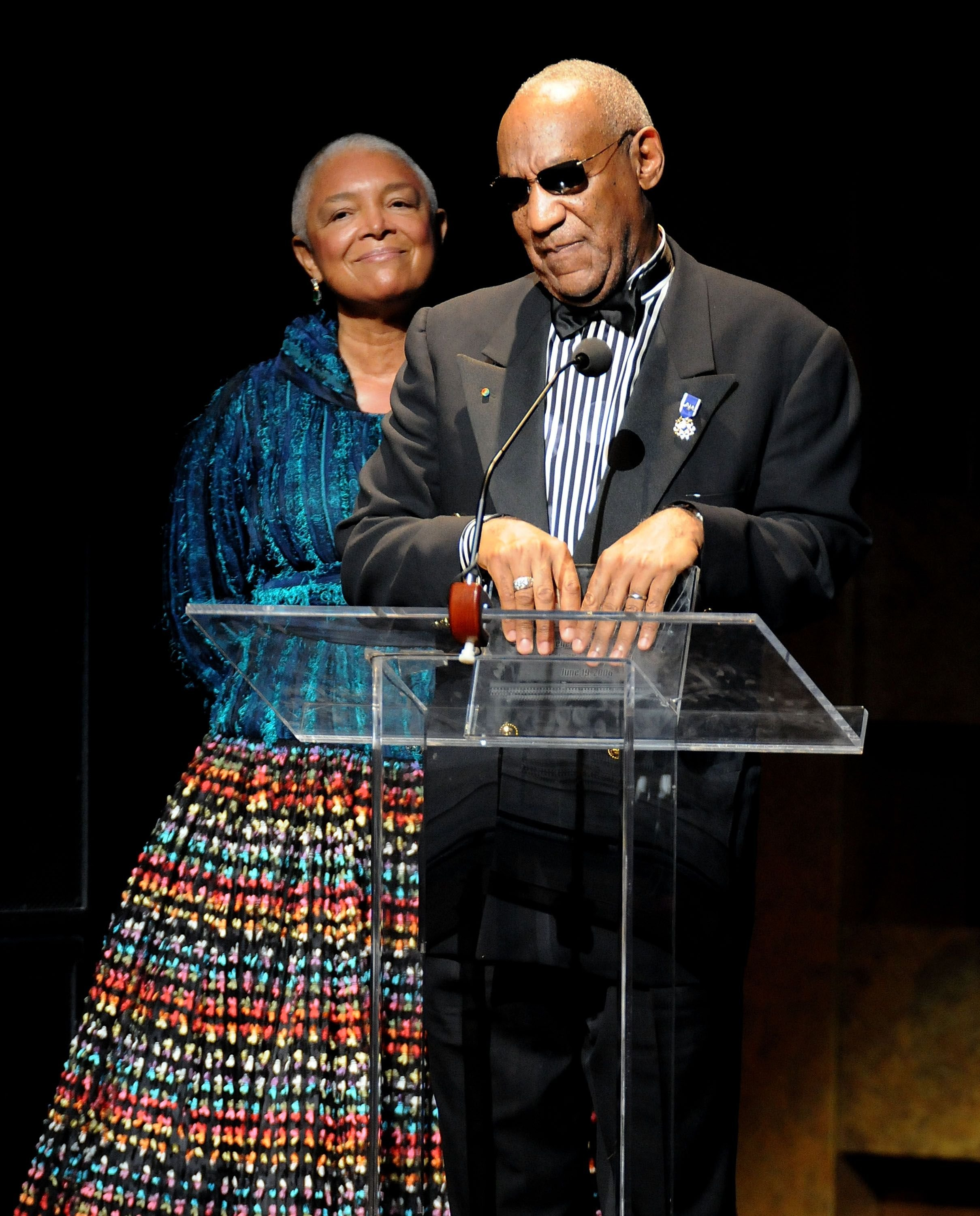 Camille and Bill Cosby at the Apollo Theater's 75th Anniversary Gala in 2009 in New York | Source: Getty Images