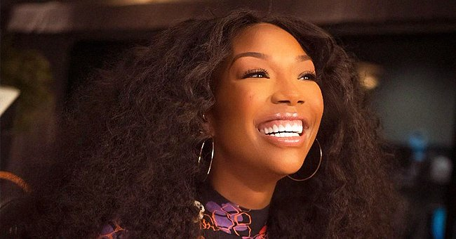 Brandy's Daughter Sy'Rai Rocks Long Braids and a Leather Jacket in New Photos