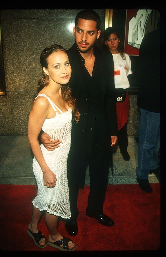 Fiona Apple and Magician David Blaine arrive at the MTV Music Awards September 5, 1997   Photo: Getty Images