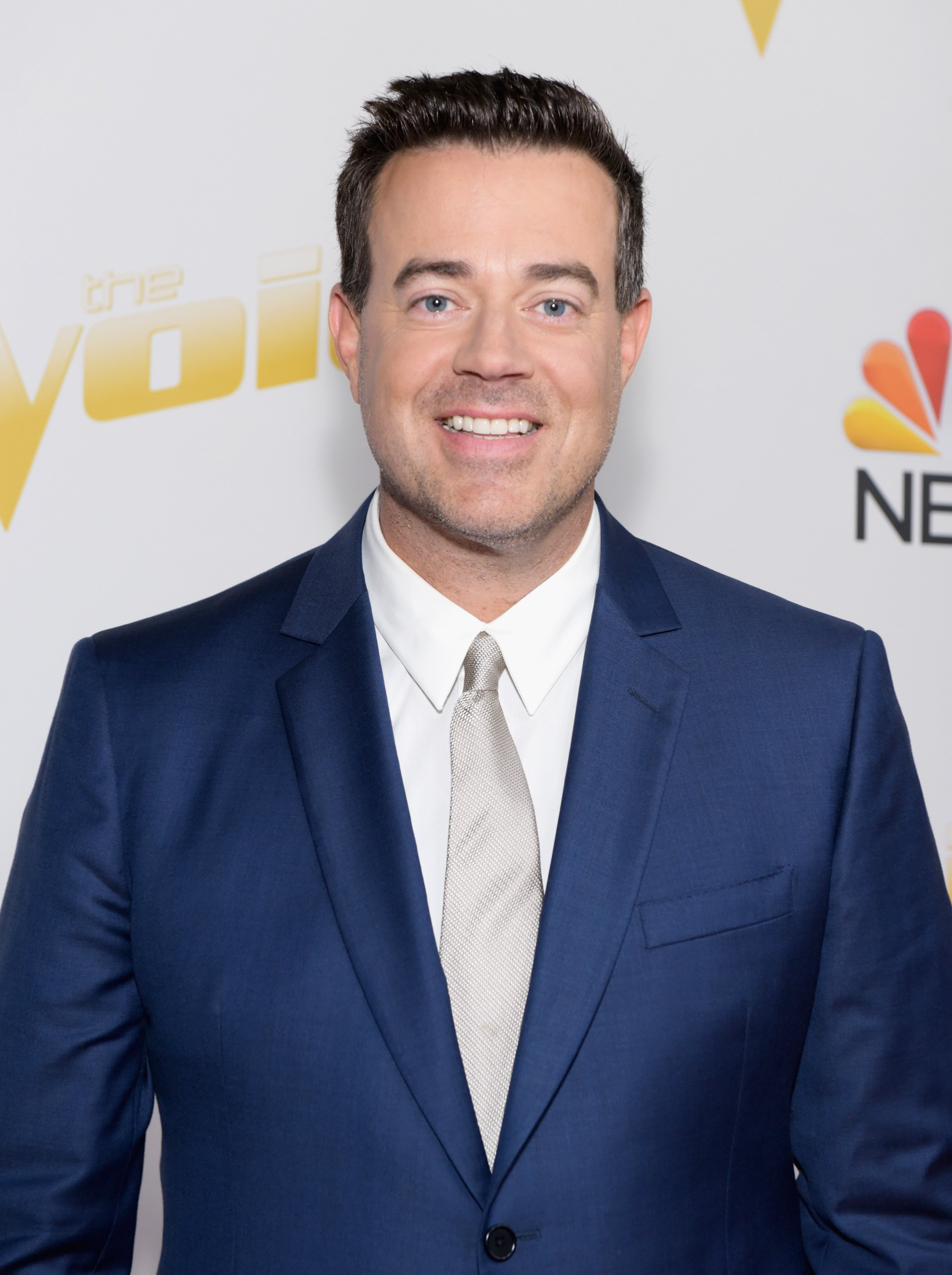 "Carson Daly attends ""The Voice"" season 14 finale taping in Universal City, California on May 21, 2018 