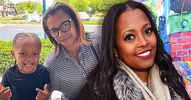 Keshia Knight Pulliam's Daughter Ella Shows Her Little White Teeth While Posing with Her Grandma