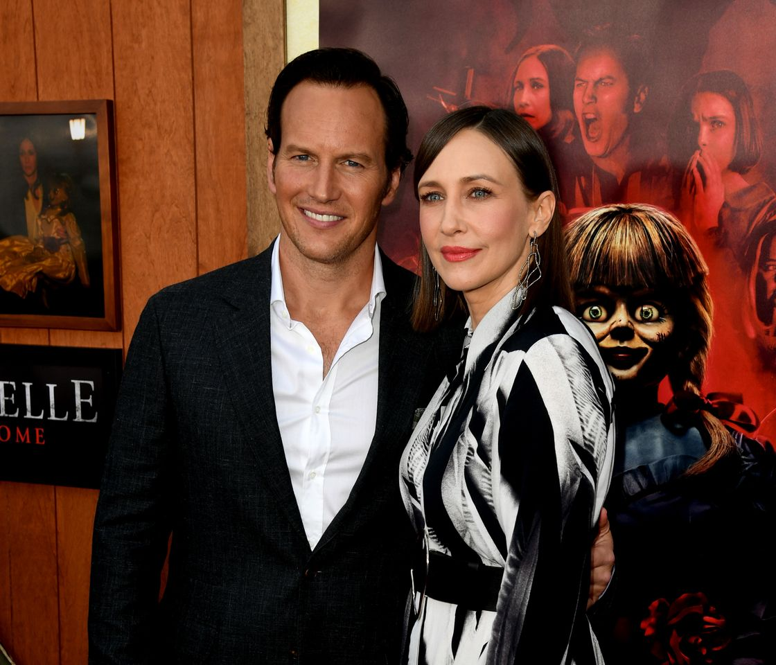"""Patrick Wilson and Vera Farmiga arrive at the premiere of  """"Annabelle Comes Home""""  I Getty images"""