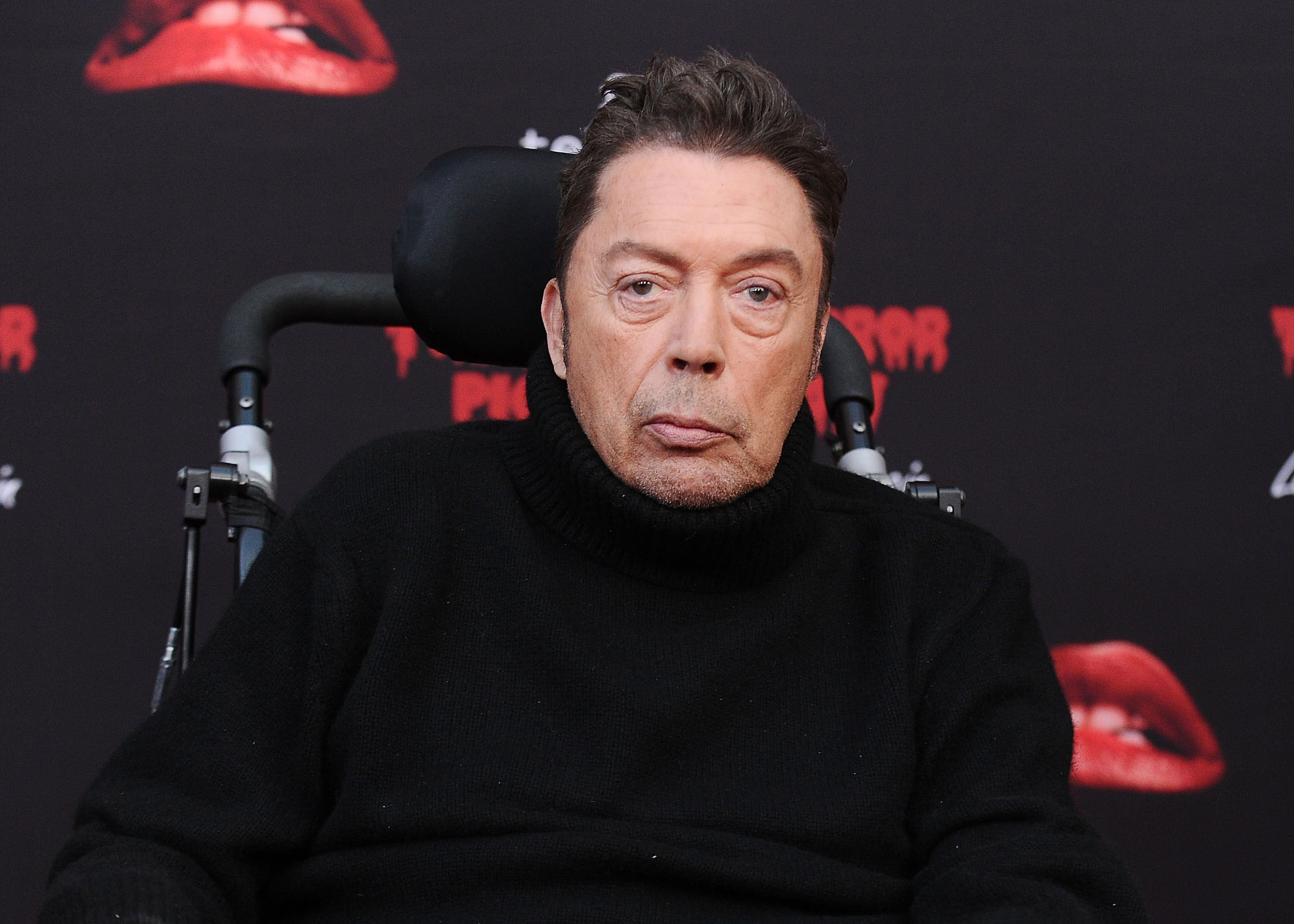 """Tim Curry attends the premiere of """"The Rocky Horror Picture Show: Let's Do The Time Warp Again."""" 