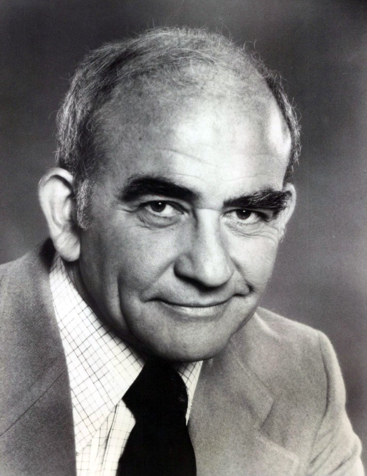 """A promotional photo of the """"Lou Grant"""" star Ed Asner circa 1977. 