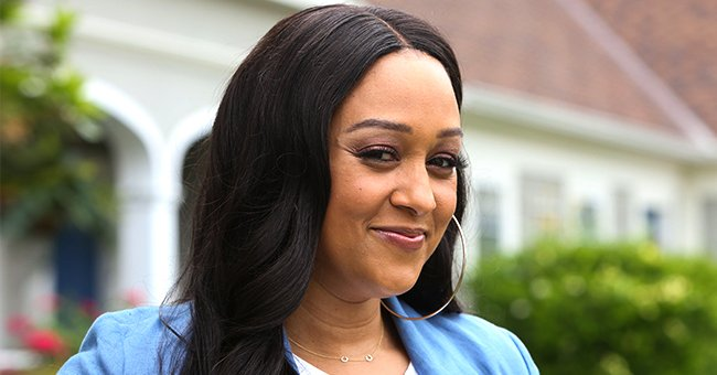 Tia Mowry Poses for Instagram in a $1,800 Khaki Blazer and Trousers