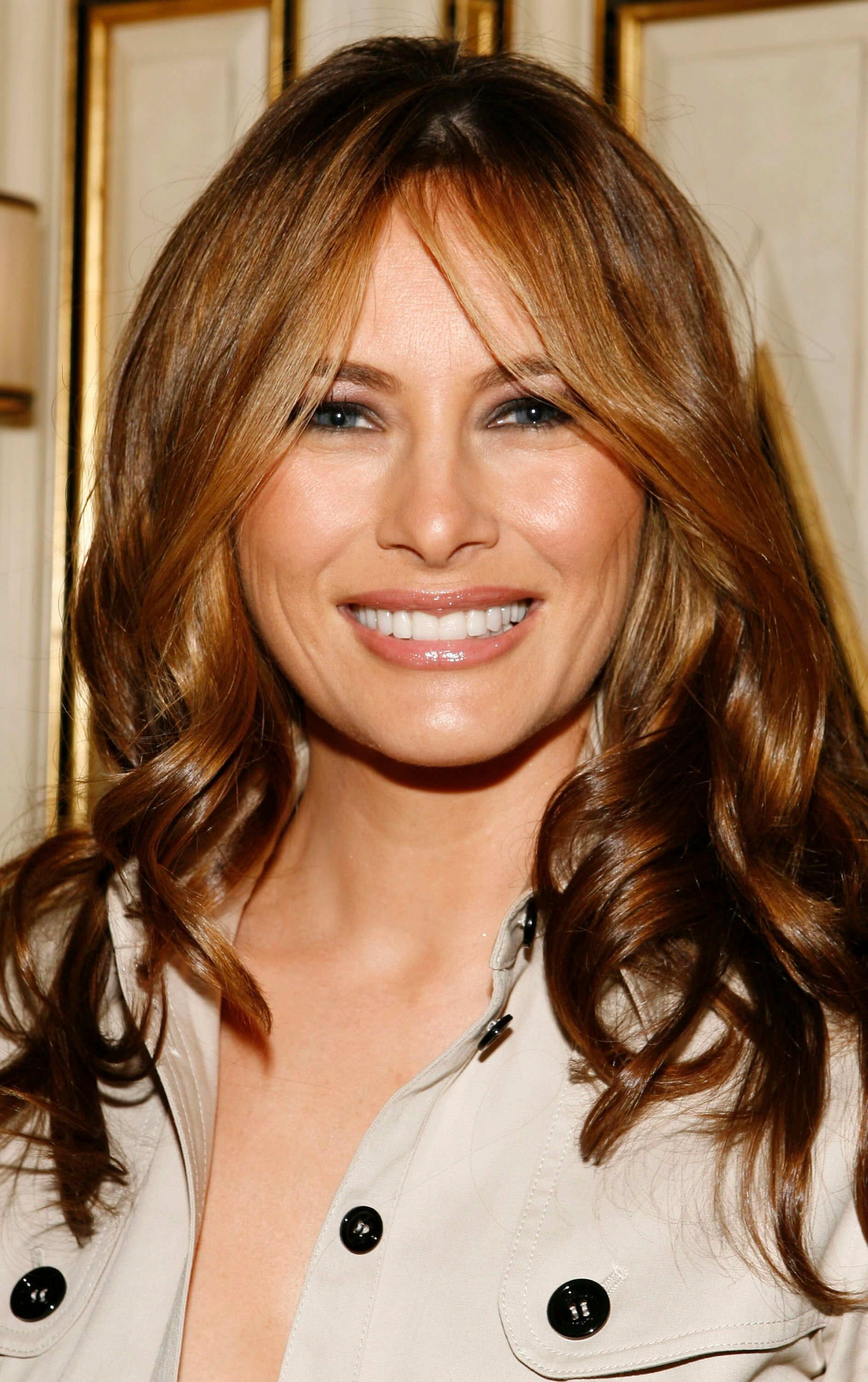 Melania Trump attends the Best & Co. Fashion Show and Breakfast to Benefit Society of Memorial Sloan-Kettering at Bergdorf Goodman on April 12, 2007 in New York City | Photo: Getty Images