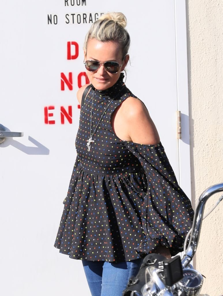 Laeticia Hallyday à Los Angeles. | Photo : Getty Images