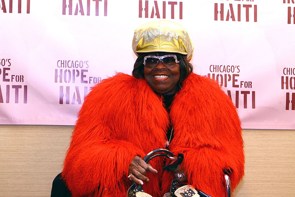 Albertina Walker poses for photos at House Of Hope in Chicago, Illinois on February 08, 2010. | Photo: Getty Images