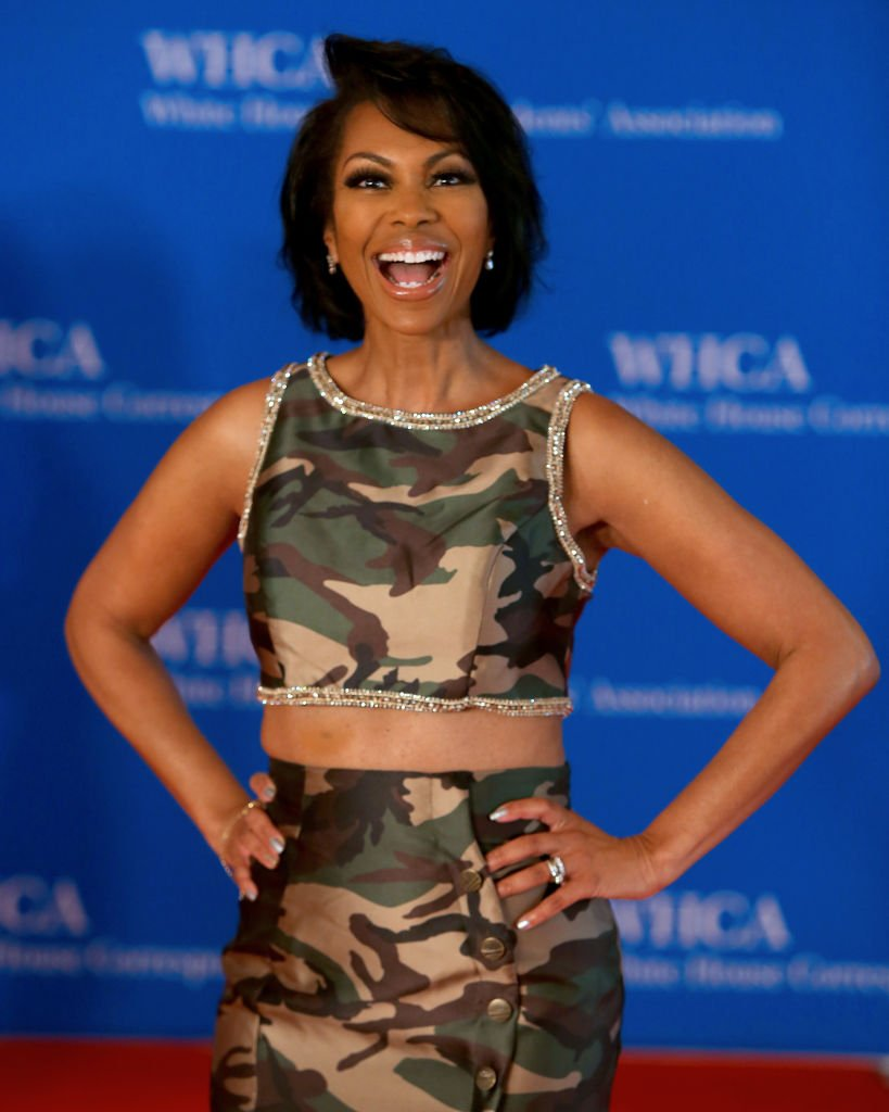 TV anchor Harris Faulkner attends the 2018 White House Correspondents' Dinner in Washington. | Photo: Getty Images