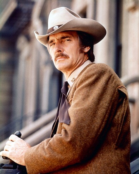 """Dennis Weaver in a publicity portrait issue for the television series """"McCloud,"""" circa 1973.   Photo: Getty Images"""