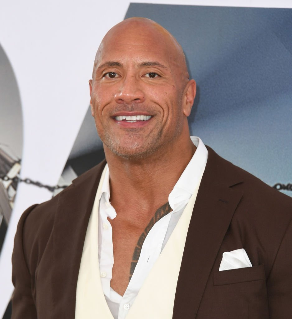 "Dwayne Johnson attends the Premiere Of Universal Pictures' ""Fast & Furious Presents: Hobbs & Shaw"" 