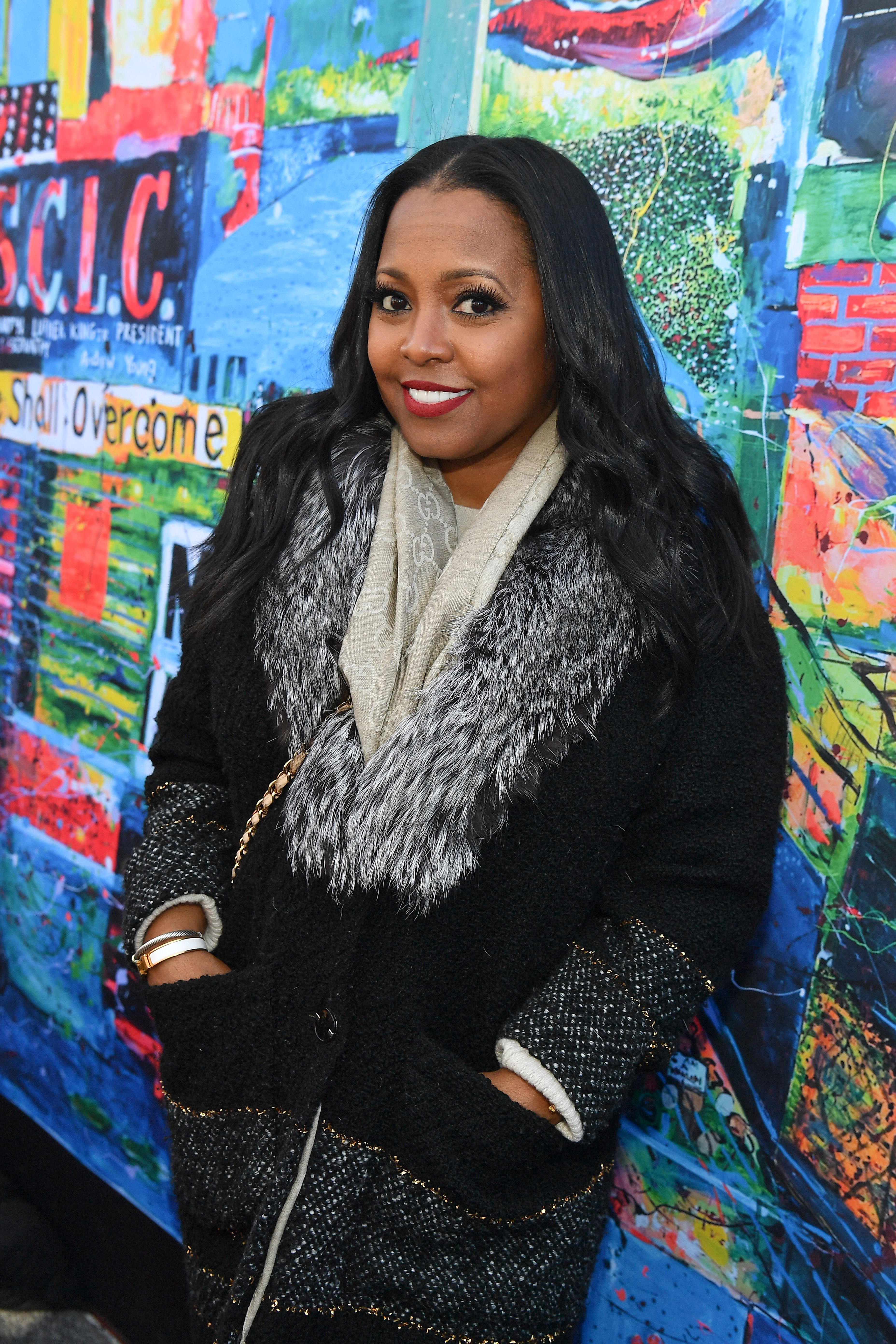Keshia Knight Pulliam at Comcast NBCUniversal Exclusive Digital Mosaic at Ebenezer Baptist Church in Georgia on Jan. 21, 2019. | Photo: Getty Images