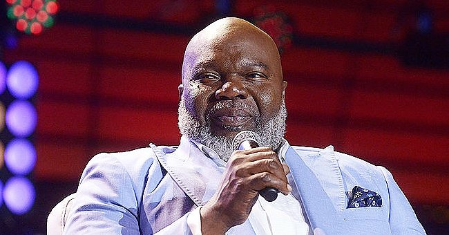 TD Jakes' Wife of 39 Years Proves She Is a Smart Dresser by Posing in a Gray Coat and Big Bag