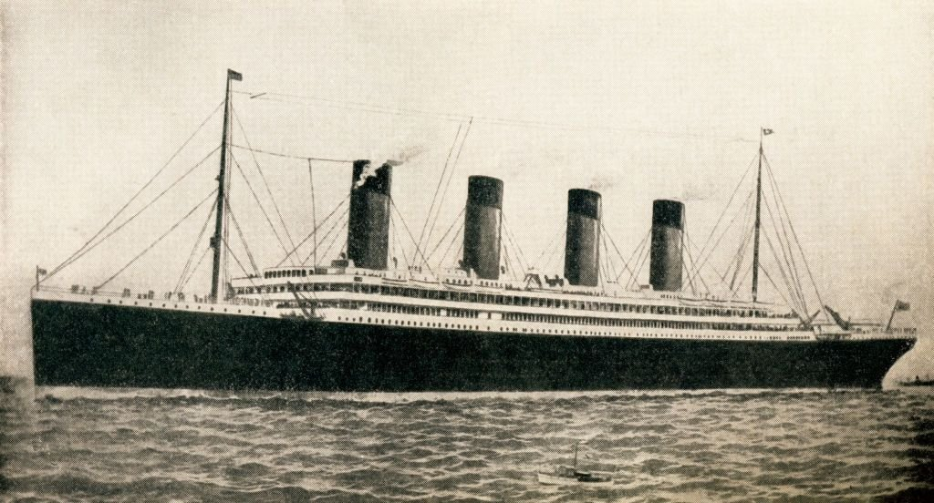 A portrait of the 46,328 Tons Rms Titanic Of The White Star Line on January 01, 1912 | Photo: Getty Images