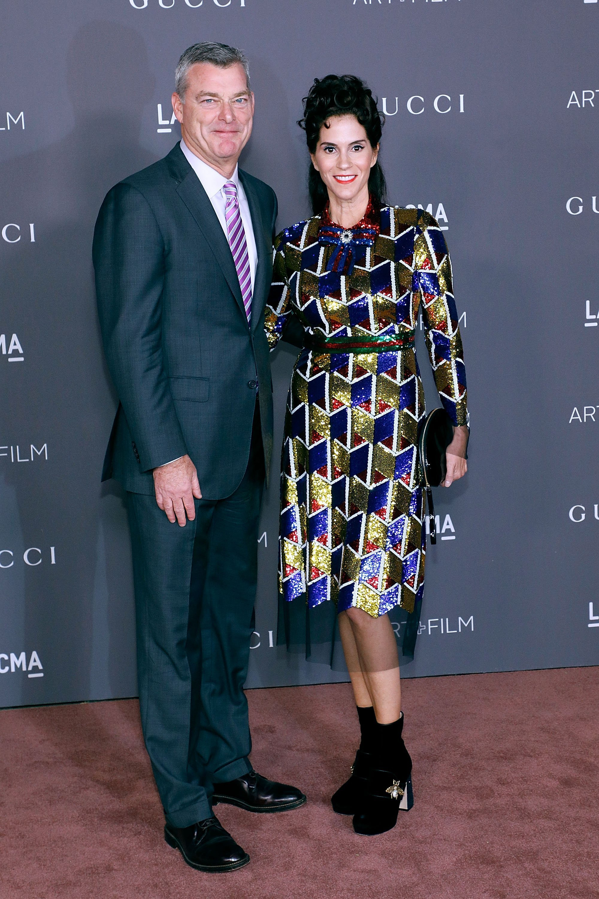 Antony Ressler and Jami Gertz attend the 2017 LACMA Art + Film Gala. | Source: Getty Images