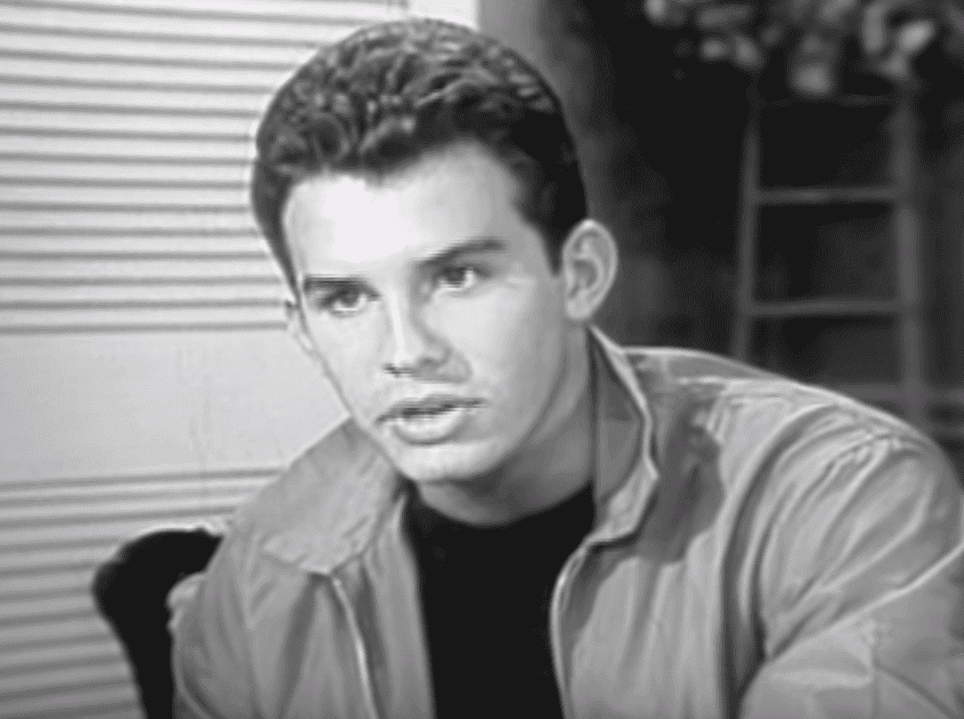 """Dirk Young in an episode of """"The Loretta Young Show."""" 