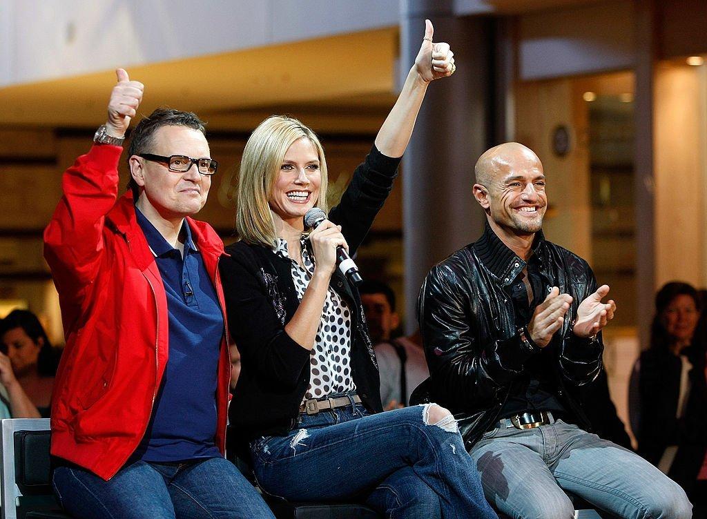 Heidi Klum, Rolf Scheider und Peyman Amin, Las Vegas, USA, 2009 | Quelle: Getty images