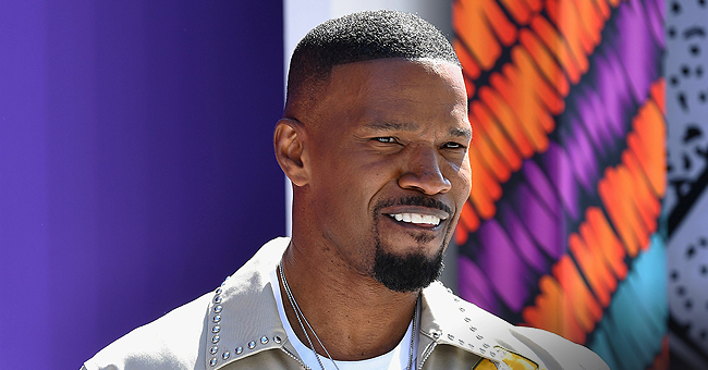 Jamie Foxx Spotted Leaving LA Club with Mystery Woman Who Turned out to Be Singer Sela Vave